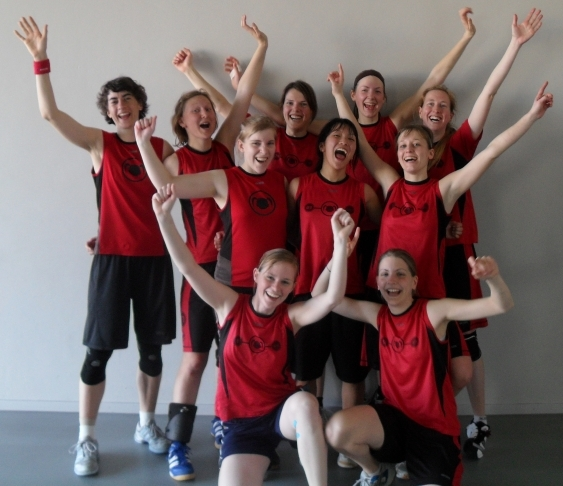 1. Platz Indoor DM 2. Liga Frauen 2011